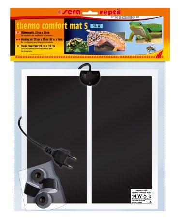 Sera Нагреватель-мат reptil S, 14 Вт, 28х28 см от Ravta
