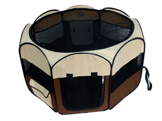 Вольер-клетка, выставочный, 92х92х49 см, кор/беж от Ravta