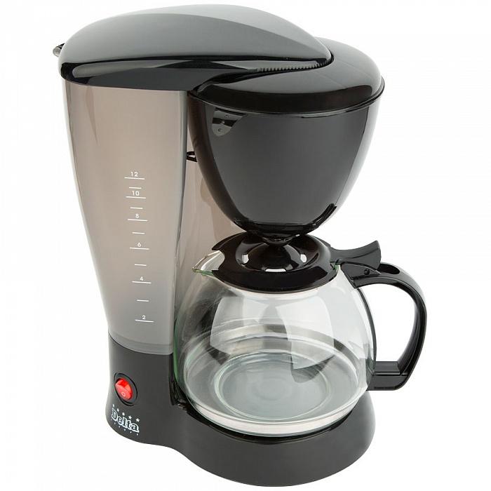 Кофеварка DELTA DL-8139 черная от Ravta