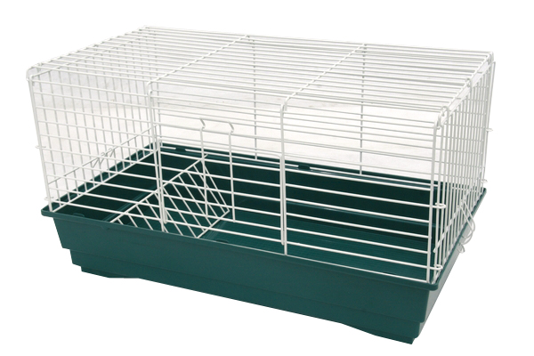 "Клетка д/круп. грызунов ""Cavia 60"", 58х32х32 см, зелен./бел. от Ravta"