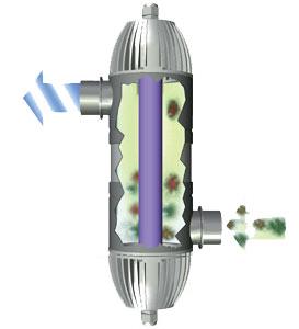 Сменная УФ-лампа для UVC adv 16, 16 Вт от Ravta