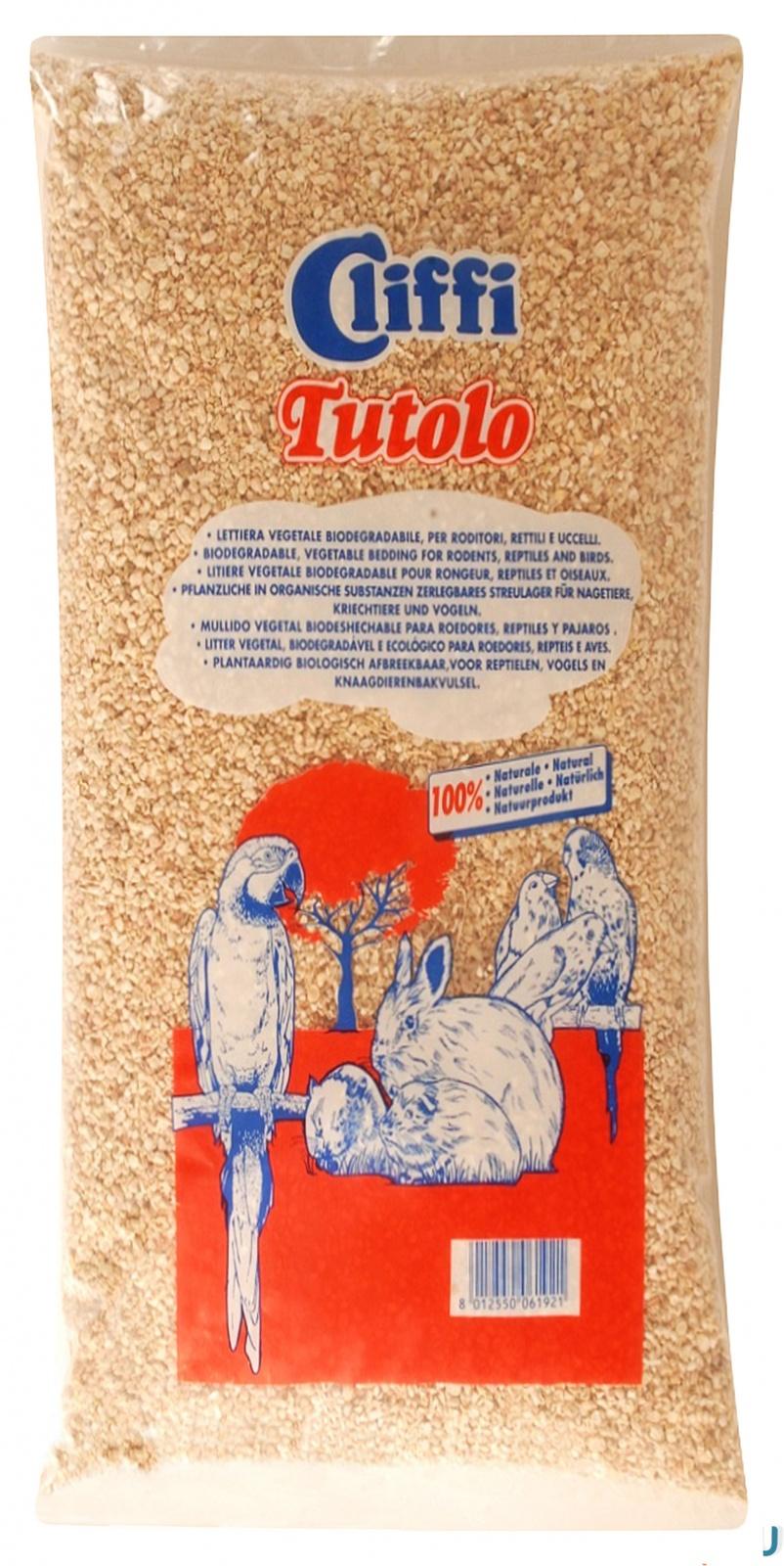 Cliffi Кукурузный наполнитель для грызунов: 100% органик (Tutolo) ACRS013 20кг от Ravta