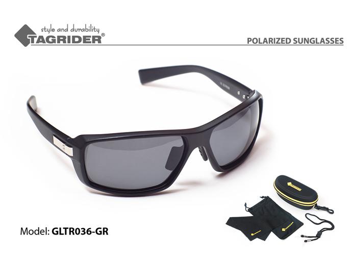 Очки поляриз.Tagrider в чехле GLTR 036 GR от Ravta