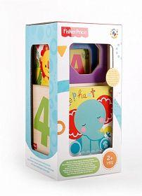 Деревянный набор из 4 кубиков-сортеров и формочек Fisher Price (арт. ФП-1005)Игрушки для малышей до 3 лет<br><br><br>Артикул: ФП-1005<br>Бренд: Fisher Price<br>Пол: Для девочек<br>Категории: Сортеры<br>Возраст ребенка: от 2 до 3 лет