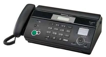 Факс Panasonic KX-FT984RU-B (черный) от Ravta