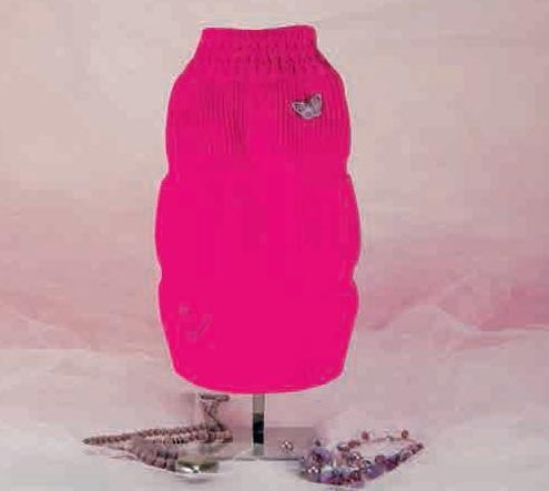 """Свитер для собак """"Тельма"""", 25 см, розовый от Ravta"""