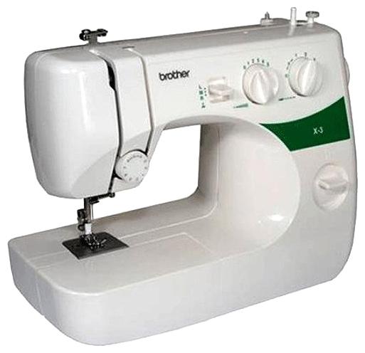 Швейная машина Brother X 3 белый от Ravta