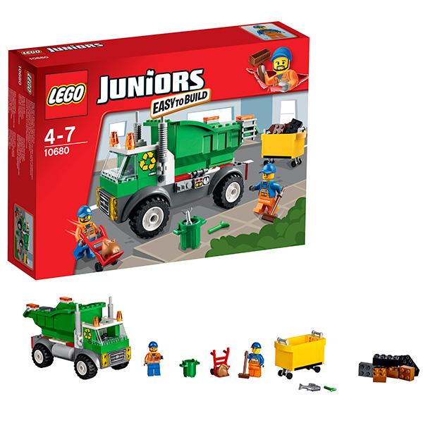 Конструктор Lego Juniors (Лего Джуниорс) Мусоровоз, Lego 10680LEGO Конструкторы<br><br><br>Артикул: 10680<br>Бренд: Lego