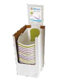 Домик-туалет большой Ромео, 57*39*41, пластикТуалеты для животных<br><br><br>Артикул: C6020079<br>Бренд: Croci<br>Родина бренда: Италия