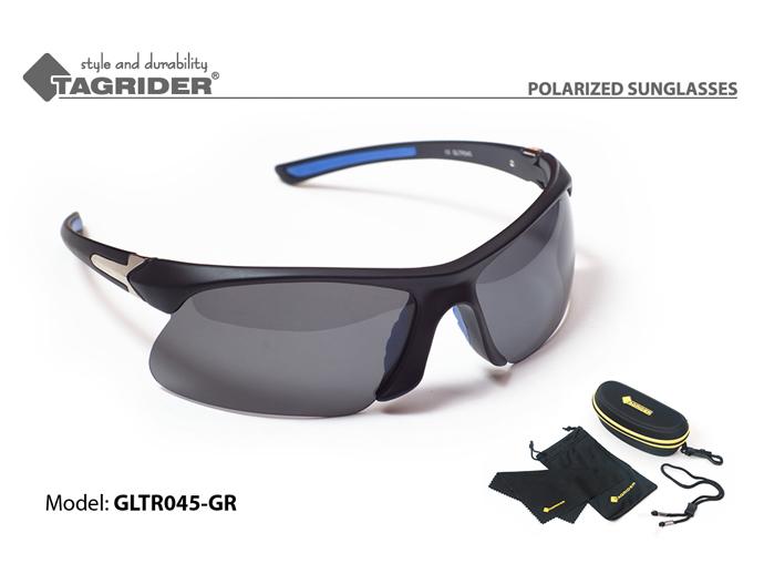 Очки поляриз.Tagrider в чехле GLTR 045 GR от Ravta