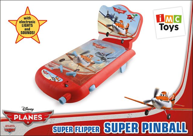 Пинбол Planes Со Звуком И Светом, На Батарейках, См, Imc Toys 625037 от Ravta