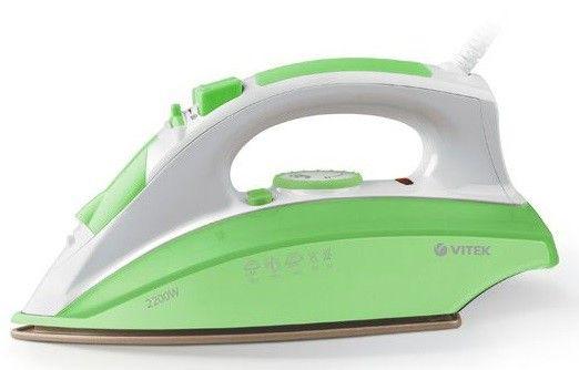 Утюг Vitek VT-1201 G зеленый (LETO)Утюги<br><br><br>Артикул: VT-1201(зеленый)<br>Бренд: Vitek<br>Гарантия производителя: да