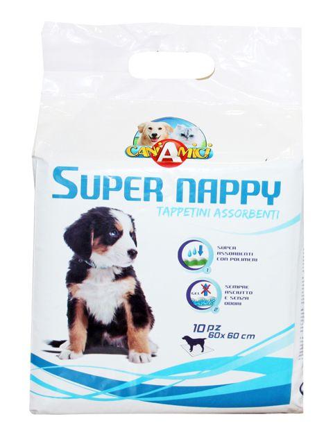 Пелёнка гигиенич. д/собак Super Nappy, 60х60 см, 50 шт от Ravta