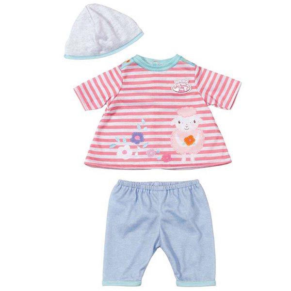 Zapf Creation Baby Annabell 794-371 Бэби Аннабель Одежда для куклы 36 см в ассортименте от Ravta
