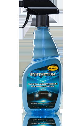 Полироль синтетический мгновенного действия Astrohim SYNTHETIUM AC-222 спрей (500 мл) от Ravta