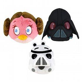 Angry Birds Star Wars мягкая игрушка, 30 см (арт. 94065)Мягкие игрушки<br><br><br>Артикул: 94065<br>Бренд: 1 TOY<br>Пол: Для девочек<br>Категории: Angry Birds<br>Возраст ребенка: от 3 лет
