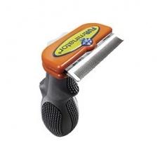 Furminator Фурминатор д/короткошерстных собак средних пород, 6см ( Short Hair Medium Dog deShedding Tool) от Ravta