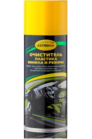 Очиститель пластика, винила и резины Astrohim AC-3675 аэрозоль (520мл) от Ravta