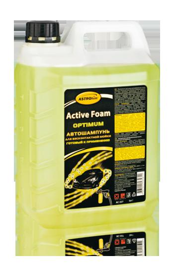"""Автошампунь для бесконтактной мойки """"Active Foam. OPTIMUM"""" готовый к применению Astrohim AC-327 (5 л) от Ravta"""