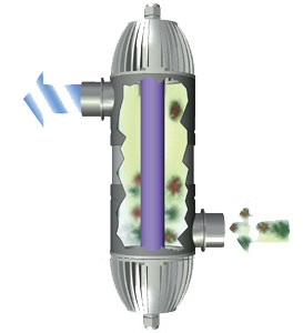 Сменная УФ-лампа для UVC adv 11, 11 Вт от Ravta