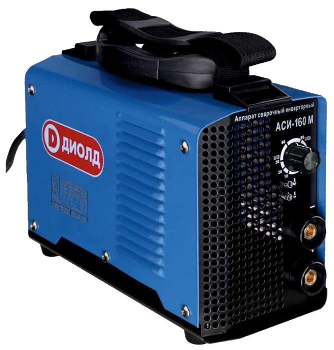 Инвертор ДИОЛД АСИ-160М, 30012060Сварочное оборудование<br><br><br>Артикул: 30012060<br>Бренд: ДИОЛД<br>Родина бренда: Россия