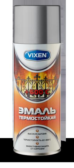 Эмаль термостойкая Astrohim VX-53000 серебристая (аэрозоль) (520 мл) от Ravta