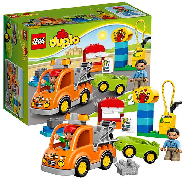 Lego Duplo 10814 Лего Дупло БуксировщикLEGO Конструкторы<br><br><br>Артикул: 10814<br>Бренд: Lego