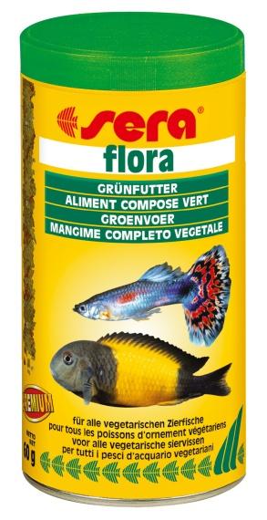 Sera Флора, 1000 мл, 210 гКорма для рыб<br><br><br>Артикул: 0670<br>Бренд: Sera<br>Родина бренда: Германия
