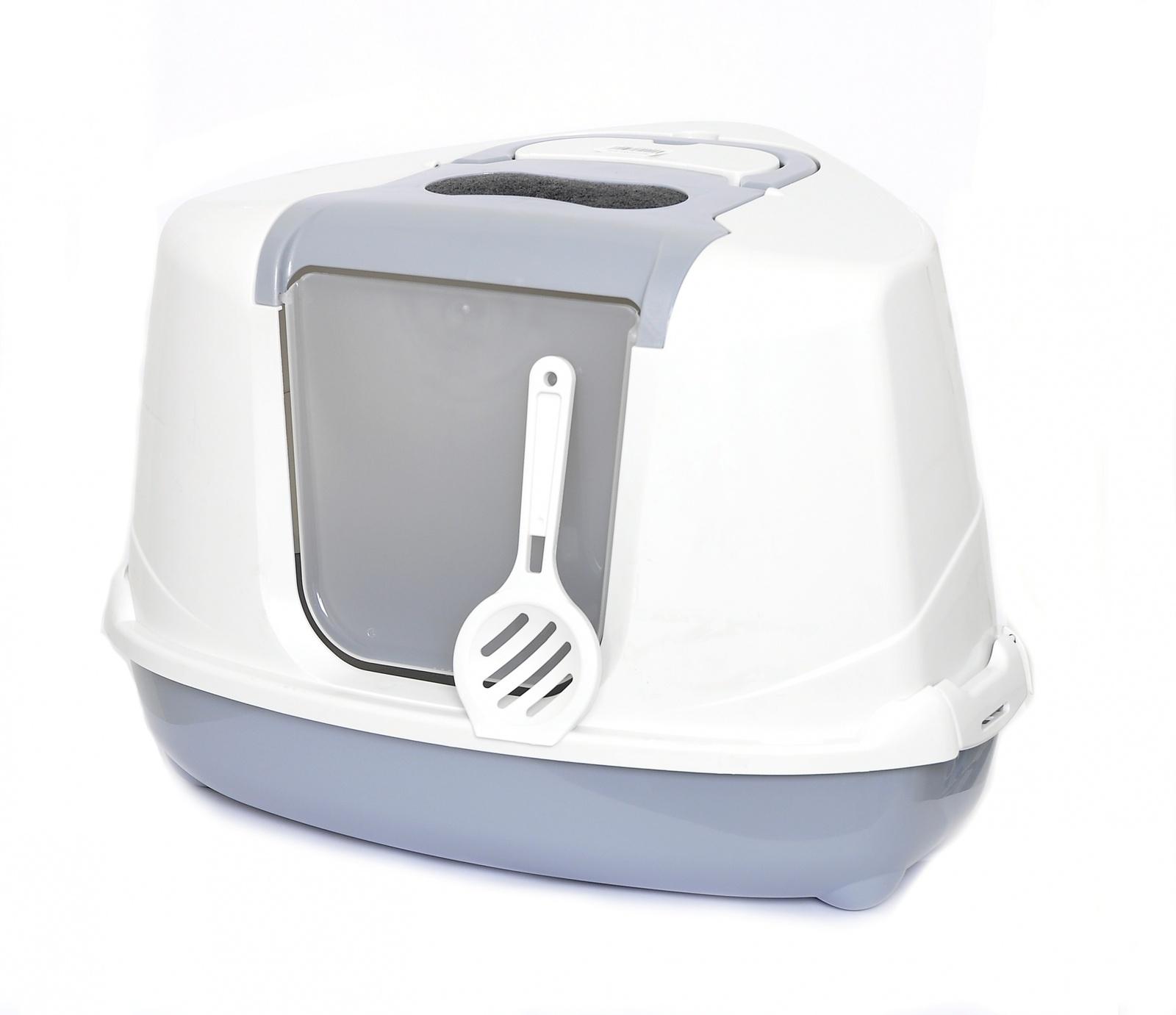 Benelux Угловой кошачий туалет 56 * 45 * 39 см H (Astro cat toilet classic mix with filter. door en) 54422Туалеты для животных<br><br><br>Артикул: 20391<br>Бренд: Benelux<br>Вес брутто (кг): 1,5