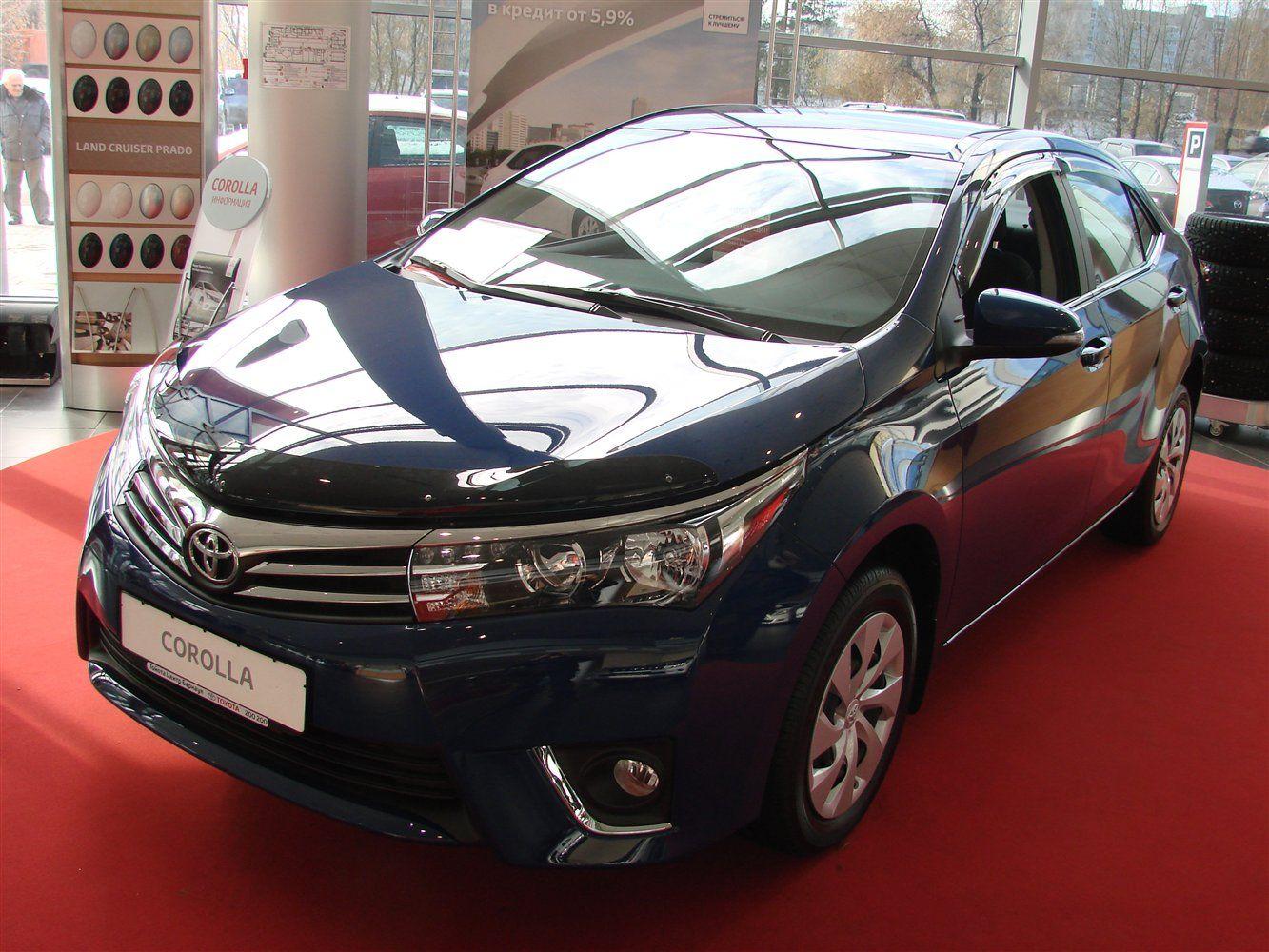 дефлектора Toyota Королла