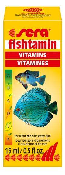 Sera Витамины д/рыб Фиштамин, 100 мл от Ravta