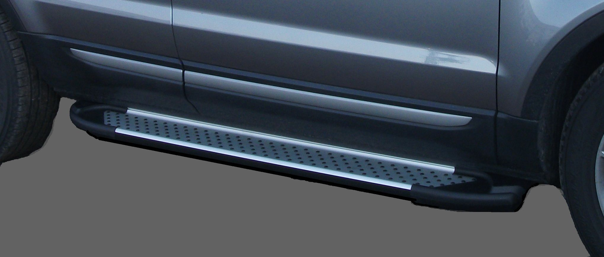 Пороги CAN OTOMOTIV алюминиевые (Sapphire Silver) Mazda (Мазда) CX5 (2012-) от Ravta