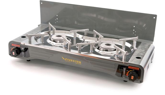 Плитка газовая Twin Premium SDY-0507 двойная от Ravta