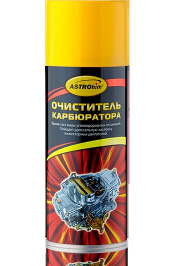 Очиститель карбюратора и воздушной заслонки Astrohim AC-1415 аэрозоль (520мл) от Ravta