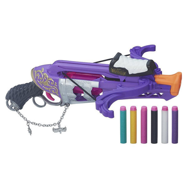 Арбалет Фортуна Nerf B1698 N-RebelleИгрушечное оружие<br><br><br>Артикул: B1698<br>Бренд: Hasbro Nerf