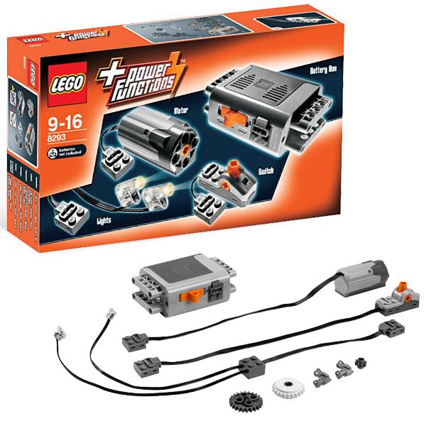 Конструктор Лего Техник (Lego Technic) Набор с мотором Power Functions, Lego 8293LEGO Конструкторы<br><br><br>Артикул: 8293<br>Бренд: Lego