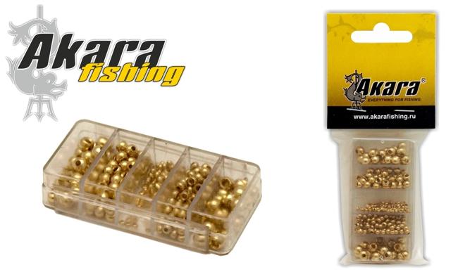 Набор головок мушинных Akara 7351 латунь GO с отверст. (250 шт.)Аксессуары для нахлыста<br><br><br>Артикул: 7351<br>Бренд: AKARA<br>Количество штук в упаковке: 1<br>Продажа товара кратно упаковке: Да