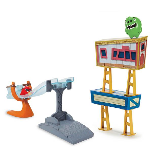 Игровой набор Трек сердитых птичек Angry Birds 90505Игровые наборы для мальчиков<br><br><br>Артикул: 90505<br>Бренд: Angry Birds