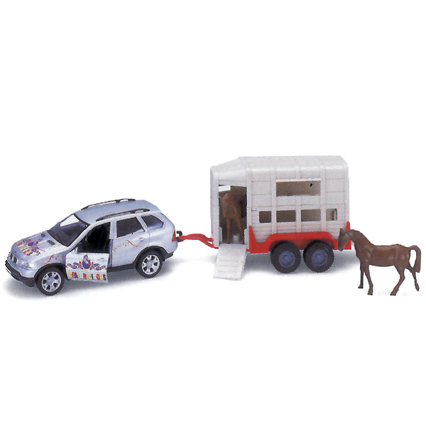 Машина Bmw X5 С Цирковым Фургоном, Welly 96120BМашинки, автотреки, катера, самолеты, танки<br><br><br>Артикул: 96120B<br>Бренд: Welly