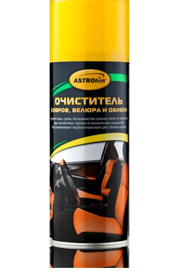 Очиститель велюра и обивки Astrohim AC-343, аэрозоль (520мл) от Ravta