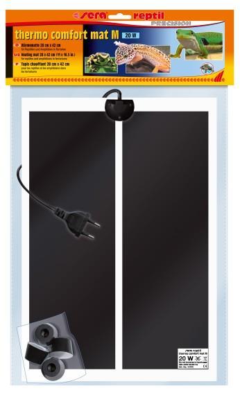 Sera Нагреватель-мат reptil M, 20 Вт, 28х42 см от Ravta
