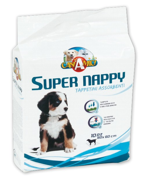 Пелёнка гигиенич. д/собак Super Nappy, 60х90 см, 50 шт. от Ravta