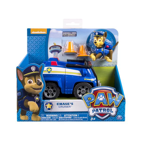 Paw Patrol Щенячий патруль Машинка спасателя и щенок (Чейз) Paw Patrol 16601-Cha paw patrol 16604 щенячий патруль
