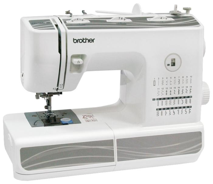 Швейная машина Brother Classic 40Швейные машины<br><br><br>Артикул: 1468664268<br>Бренд: Brother<br>Вид: швейная машина<br>Гарантия производителя: да