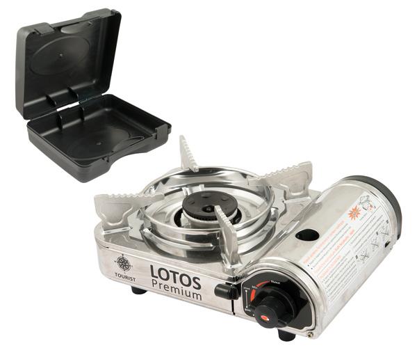 Плитка газовая в чемодане Lotos Premium TR-300Газовое оборудование<br><br><br>Артикул: TR-300<br>Бренд: Tourist<br>Количество штук в упаковке: 1<br>Продажа товара кратно упаковке: Да