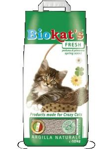 """Наполнитель для кошачьего туалета """"Biokat's Фреш"""", свежий, 20 л от Ravta"""