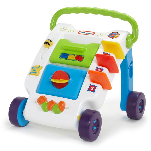 Игрушка ходунки-каталка Классическая, Little Tikes 627712Игрушки для малышей до 3 лет<br><br><br>Артикул: 627712<br>Бренд: Little Tikes