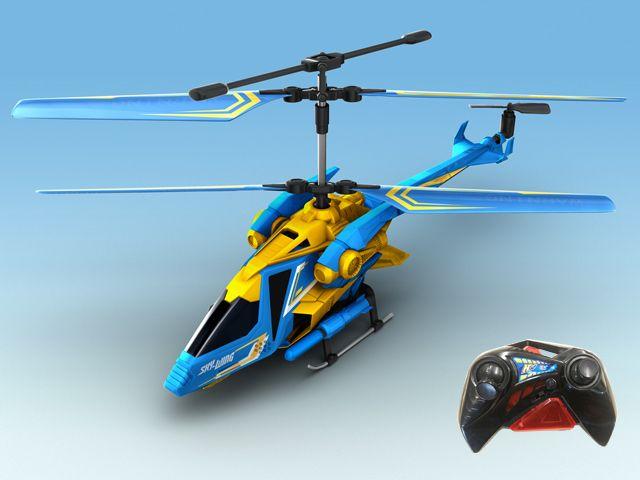 """Радиоуправляемый Вертолет """"Sky-Wing"""" На Инфракрасном Управлении С Гироскопом Три Канала Управленияhover Champs, Auldey (YW858512) от Ravta"""