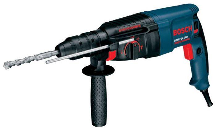 Перфоратор BOSCH GBH 2-26 DFR, 800Вт 3.0Дж SDS+ 0-4000уд/мин 0-900об/мин 26мм 2.9кг БЗП13мм кейс пласт. (0611254768) 0611254768Перфораторы<br><br><br>Артикул: 0611254768<br>Бренд: Bosch<br>Родина бренда: Германия