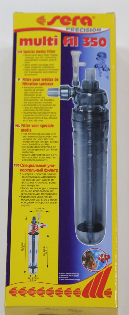 Sera Мульти Филь 350, фильтр-контейнер д/фильтр. матер. от Ravta